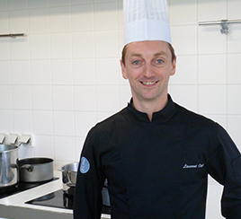 Chef Laurent Veyet