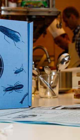 "Atelier ""Inoveat-L'Insecte Gastronome"""